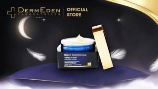Kem dưỡng ẩm chống lão hóa da giảm nám tàn nhang DERMEDEN Night Protocole Intense Night Cream 50ml thumbnail