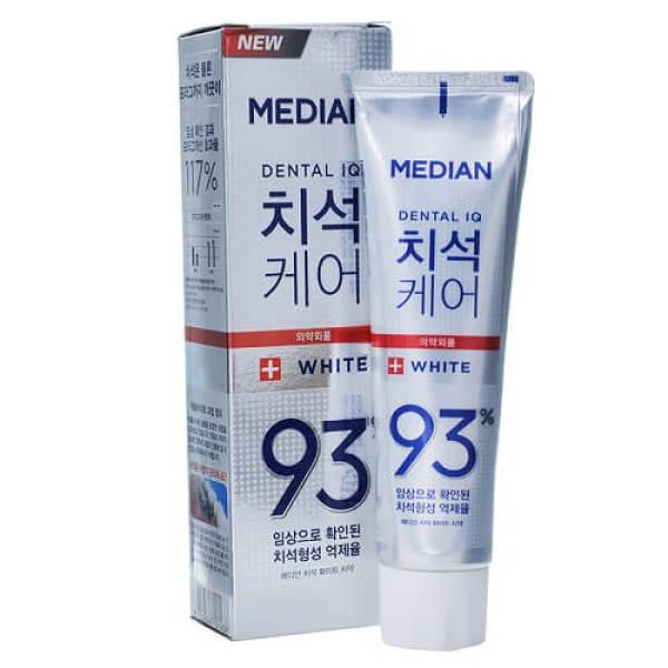 Kem Đánh Răng MÀU TRẮNG Hàn Quốc Median 93%