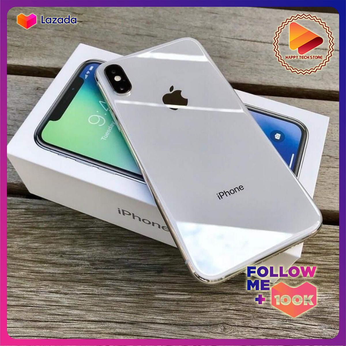 Điện thoại I.P H O N E X 64gb Trắng Bạc Silver chuẩn quốc tế