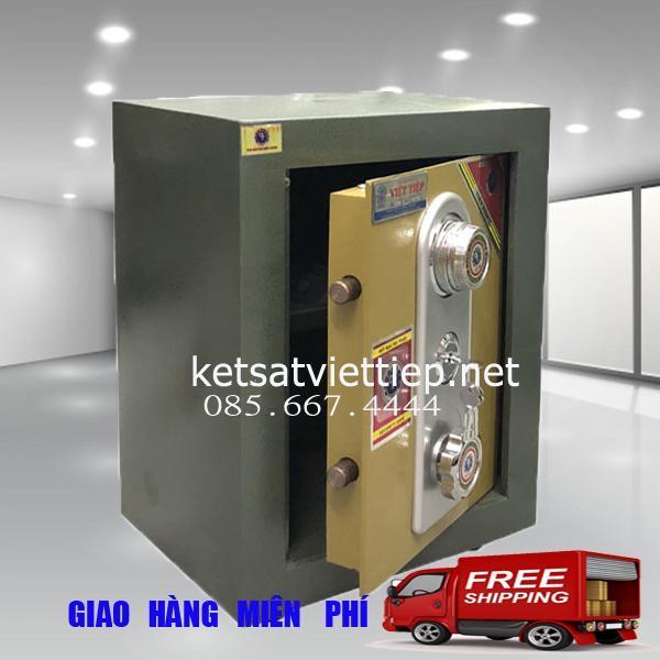 Két Sắt Việt Tiệp KV25D- Công ty két sắt Việt Tiệp uy tín - C48*R36*S30cm-38kg