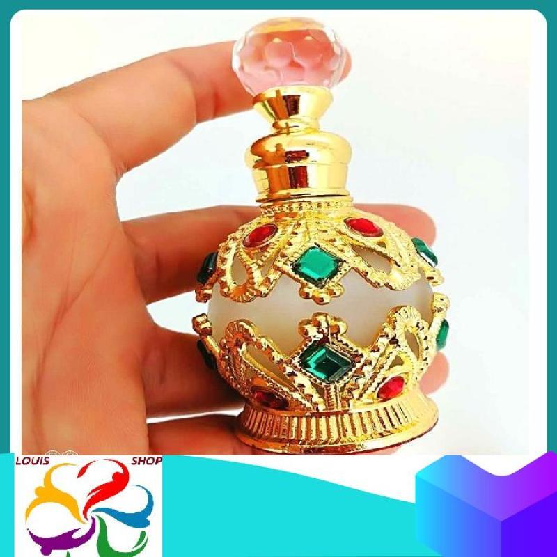 VỎ CHAI ĐỰNG nước hoa DUBAI 15ml Không có nước hoa nhập khẩu