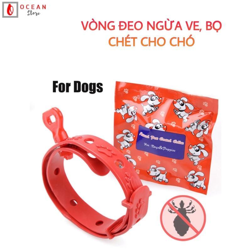 Vòng cổ chống ve, bọ chét cho chó dưới 10kg - Phụ kiện thú cưng V05