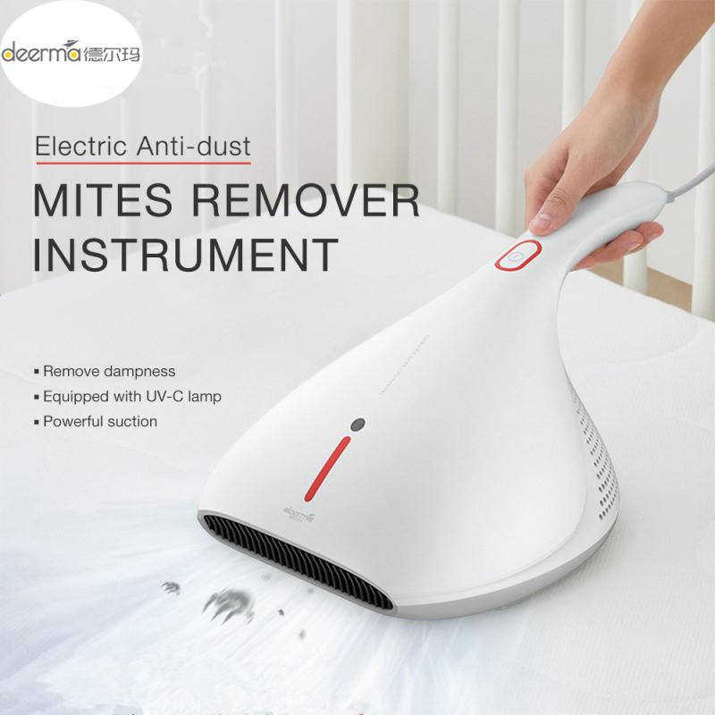 (Hàng chính hãng) Deerma CM800 Mites Máy hút bụi cầm tay kết hợp tia UV giúp loại bỏ vi khuẩn trên chăn mền lực hút mạnh phù hợp cho cá nhân và gia đình