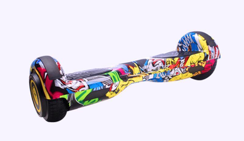 Phân phối Xe điện cân bằng Bánh 6.5 inch loa bluetooth kèm bảo hộ khủy tay và đầu gối