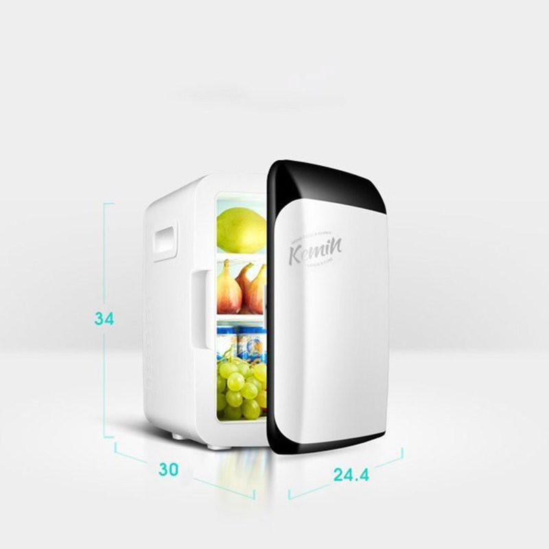 Tủ lạnh mini_tủ lạnh Kemi 10L hai chế độ nóng lạnh