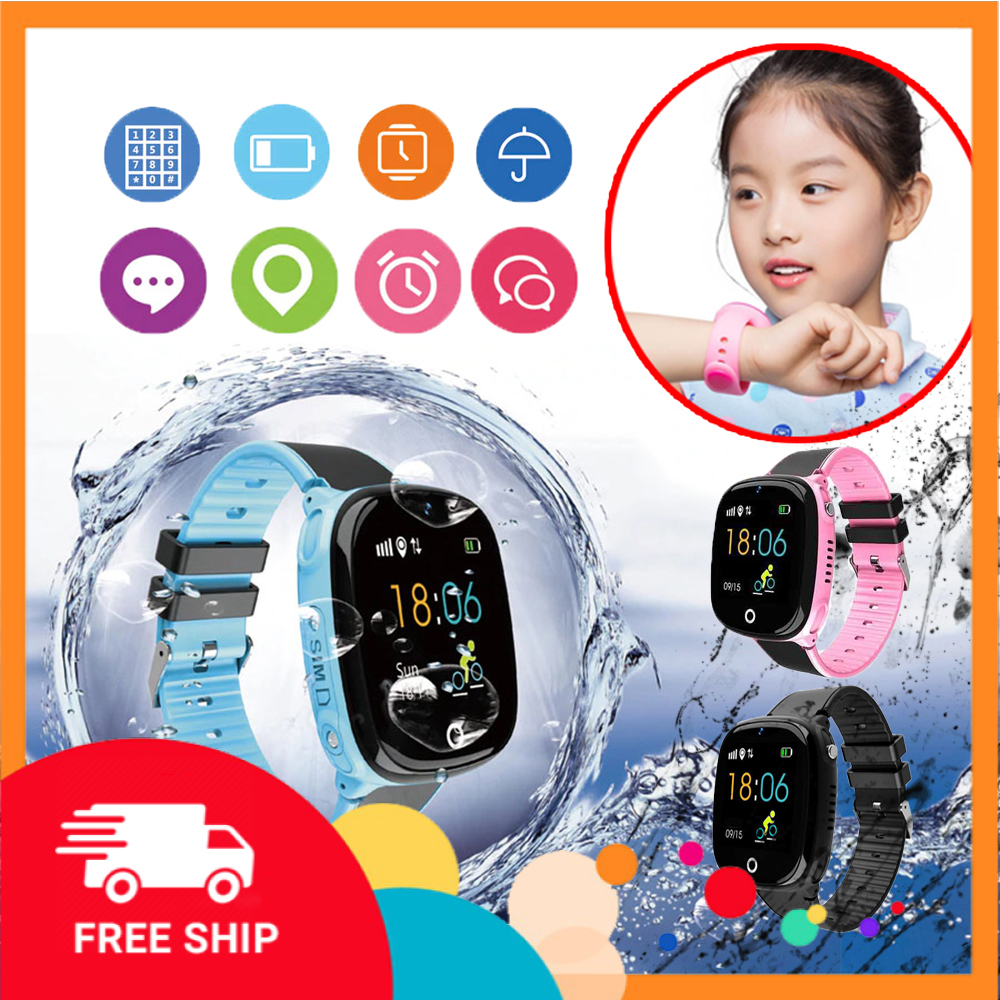Đồng hồ định vị trẻ em HW11 - công nghệ GPS chính xác - mẫu đồng hồ thông minh trẻ em lắp sim nghe gọi điện thoại, bảo vệ bé cực tốt - được các phụ huynh rất tin dùng