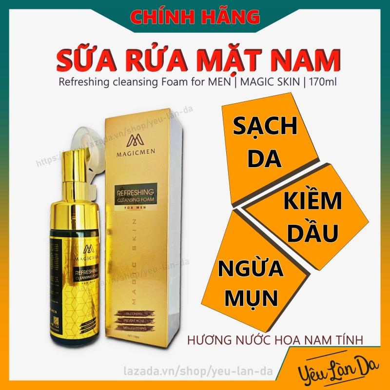 Sữa rửa mặt Magic Skin DÀNH CHO NAM - Kiềm Dầu, Sạch Da Hương Nam Tính giá rẻ