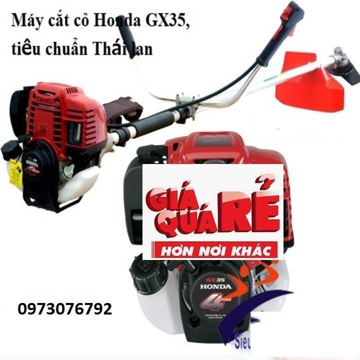 Máy cắt cỏ GX-35, tiêu chuẩn Honda Thái Lan, máy làm cỏ uy tín chất lượng, bảo hành dài lâu