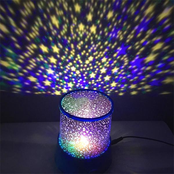 Đèn Ngủ Tạo Sao ngân hà - Star Beauty cực đẹp 1 (Đen)