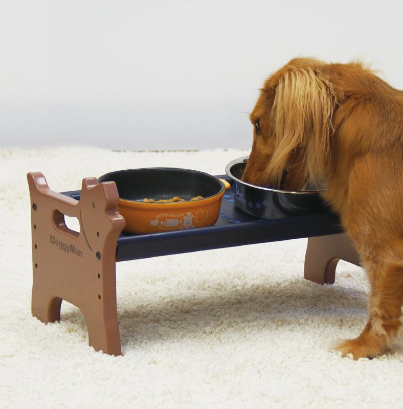 Bàn ăn khay nhựa cho chó DoggyMan Size S - 93377