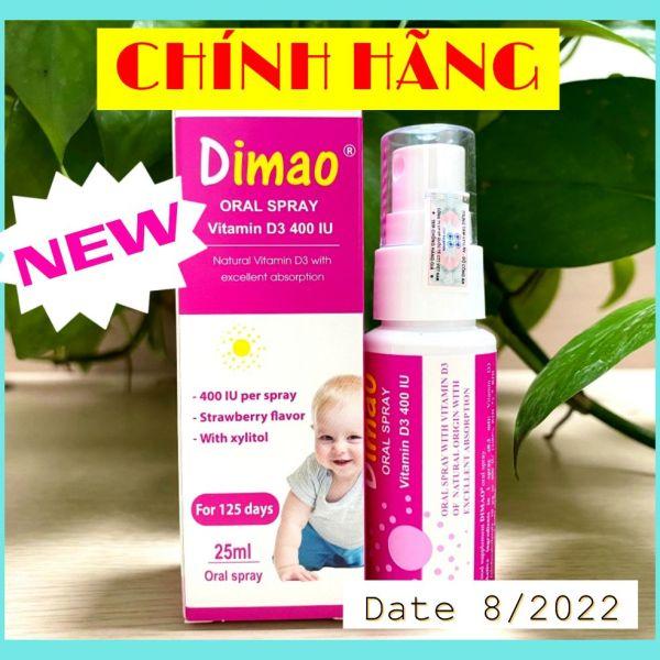 Vitamin Dimao - Vitamin D Dạng Xịt Cho Bé cao cấp