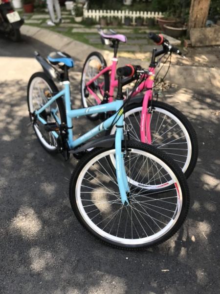 Phân phối Xe đạp thể thao 26in Hahoo-Tặng bình nước
