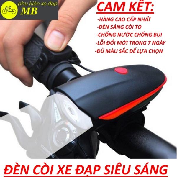đèn xe đạp siêu sáng có còi tích hợp sạc usb chống nước nhiều màu sắc dễ dàng lắp đặt bóng led 3 chế độ sáng 5 kiểu còi lớn 140db