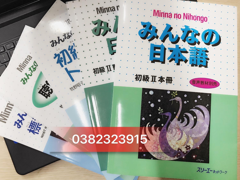 Sách Combo 5 Cuốn Minna No Nihongo Sơ Cấp 2 Giá Sốc Không Thể Bỏ Qua