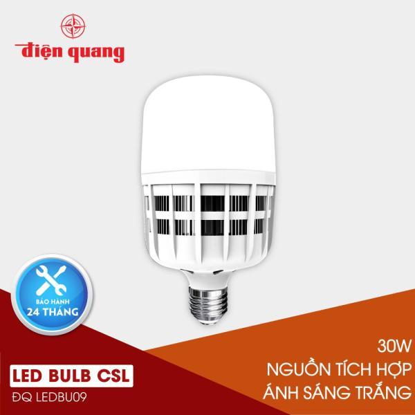 Đèn LED bulb công suất lớn Điện Quang ĐQ LEDBU09 30765 khả năng chiếu sáng cao, tiết kiệm điện năng (30W daylight, nguồn tích hợp)