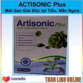 Artisonic PLus Rau Má - Giải Độc gan, Tiêu Độc Lợi Tiểu, Mẩn Ngứa Mề Đay, Mụn Nhọt Tăng Cường Sức Đề Kháng thumbnail