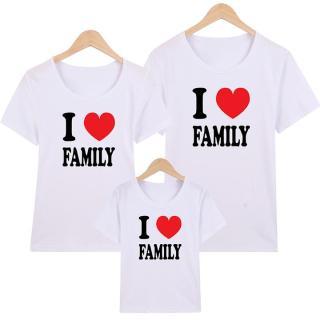 Áo Thun Gia Đình in hình I Love Family EGDM19 Thương Hiệu Elsa thumbnail