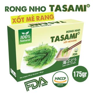 [TẶNG Sốt Mè Rang] Rong Nho tách nước TASAMI gói 35g Mẹ Bầu dùng được Đạt chuẩn FDA và HACCP 7
