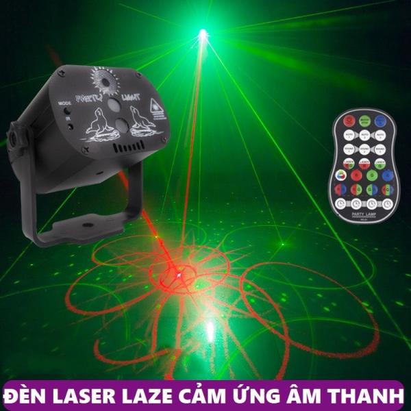 Đèn chiếu laser vũ trường cảm biến âm thanh - Đèn LED hàng nhập cao cấp