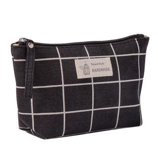 Túi vải bố canvas đựng mỹ phẩm hình ô vuông siêu đẹp siêu sang thumbnail