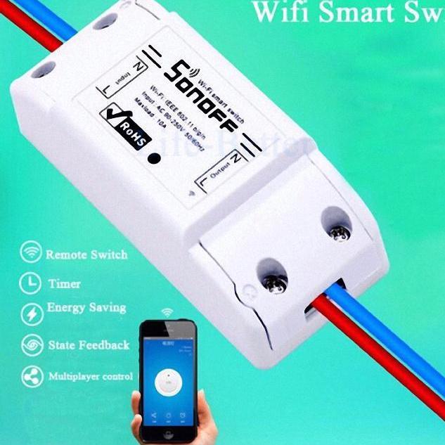 Công Tắc Điều Khiển Từ Xa Qua Wifi Sonoff / ĐK Từ Xa Bằng Điện Thoại