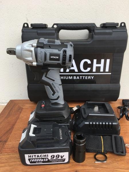 Máy siết bulong Hitachi không chổi than 99v - Đầu đa năng kiêm bắt vít