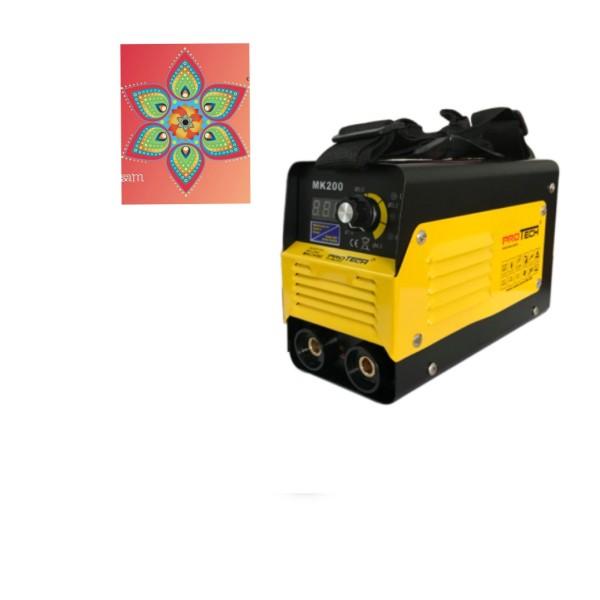 MÁY HÀN MINI GIA ĐÌNH SIÊU NHỎ PROTECH MK200 (chuyên dùng 3-4ly) trị điện yếu