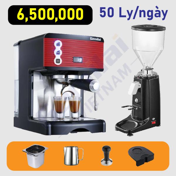 Bảng giá Combo máy pha cafe Gemilai 3601 Điện máy Pico