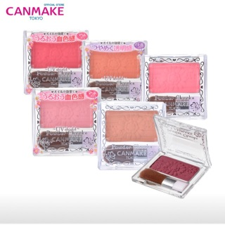 Phấn má Canmake Powder Cheeks UV Shield 3.2g thumbnail