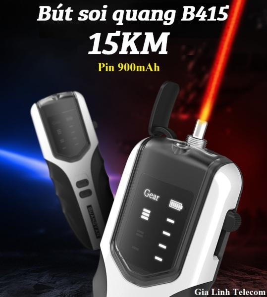 Bảng giá Bút soi cáp quang pin sạc B415 15KM - Đèn soi quang 15KM Phong Vũ