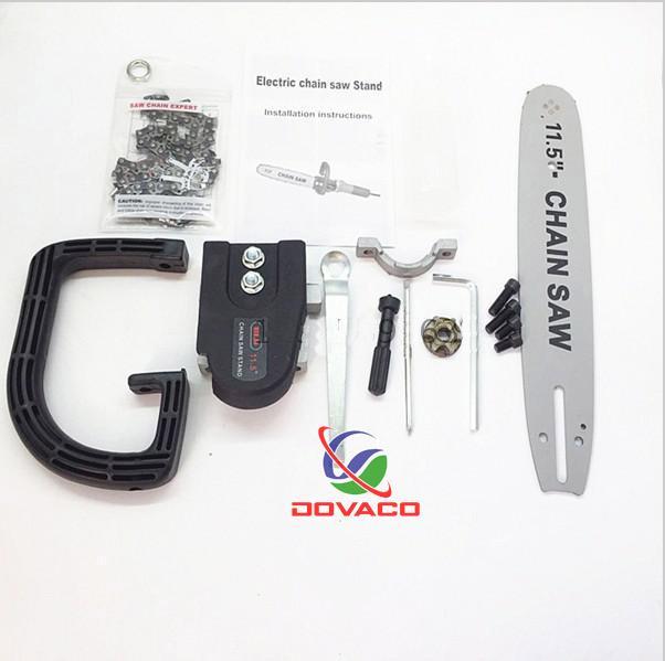 phụ kiện chuyển máy mài cầm tay thành máy cưa xích DOVACO ( Lá Chắn Sắt )