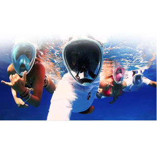 Mặt nạ lặn biển - kính bơi, kính lặn du lịch thumbnail