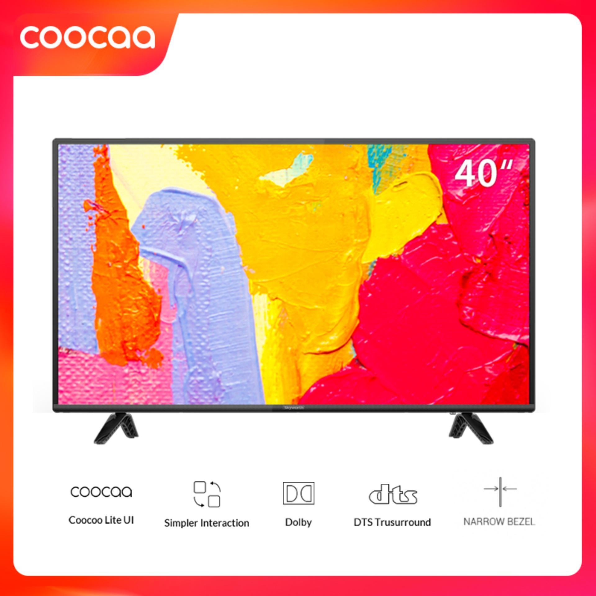 Smart TV Full HD Coocaa 40 inch - Model 40S5C (Đen) - Wifi USB HDMI