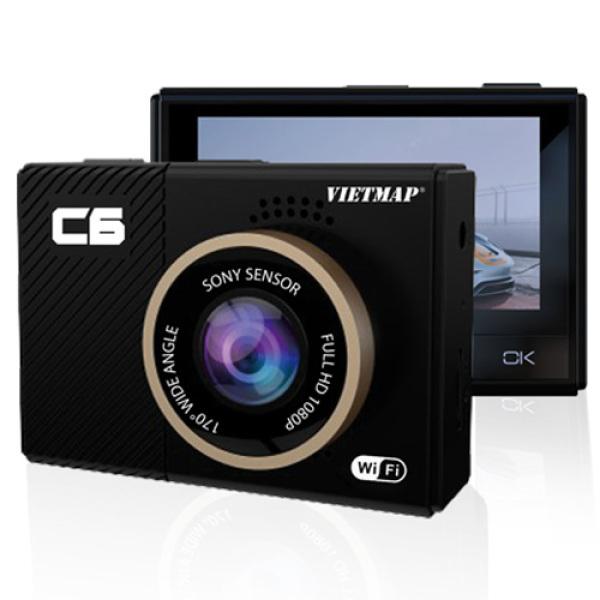Camera Hành Trình Vietmap C6 WiFi - Ghi Hình Full HD 1080P - Màn Hình 2.45 Inch - Cảm Biến Ánh Sán - Cảm Biến Va Chạm - Công Nghệ Chống Ngược Sáng Cùng Với Cảm Biến Ảnh Sony - Ghi Hình Liên Tục 24h - Giao Hàng Tận Nơi - Có Bảo Hành
