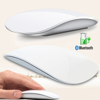 Bluetooth 5.0 Wireless Mouse Magic Arc Touch 1600 DPI Ultra Thin Rechargeable Computer Mice For Apple Macbook thumbnail