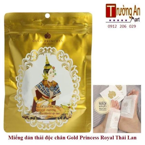 COMBO 10 Miếng dán thải độc chân Gold Princess ( 1 HỘP 10 MIẾNG ) giá rẻ