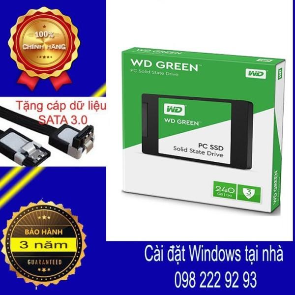 Bảng giá SSD 240GB Western Digital Green Sata 3  - ssdw2407 Phong Vũ