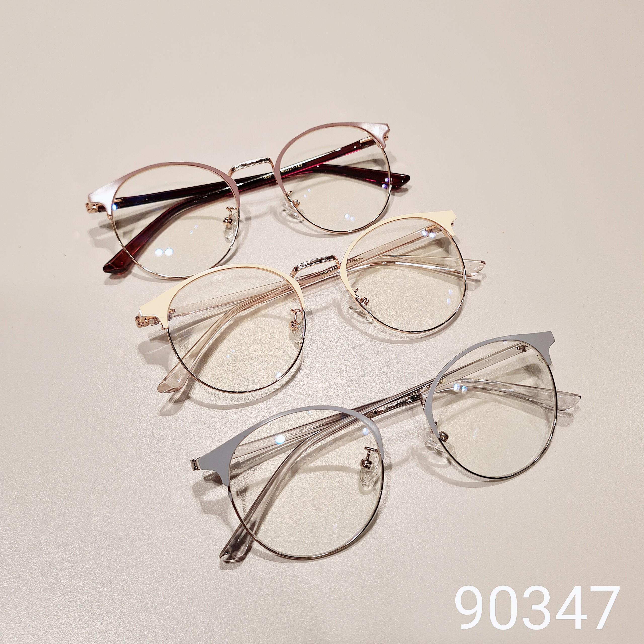 Mua Gọng kính kim loại nữ mắt tròn Lilyeyewear 90347, nhẹ nhàng thanh mảnh, giúp người đeo thoải mái, phù hợp với nhiều khuôn mặt , gọng kính có nhiều màu, một size