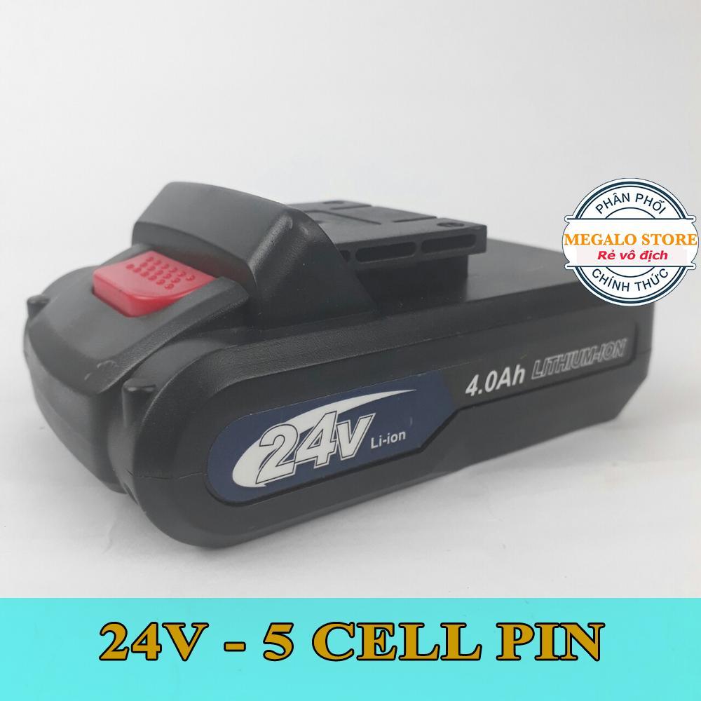Pin Máy Khoan Makita 24V Dùng cho máy 18V 21V 24V 26V. Pin Chuẩn 5 cell Bảo hành 6 tháng