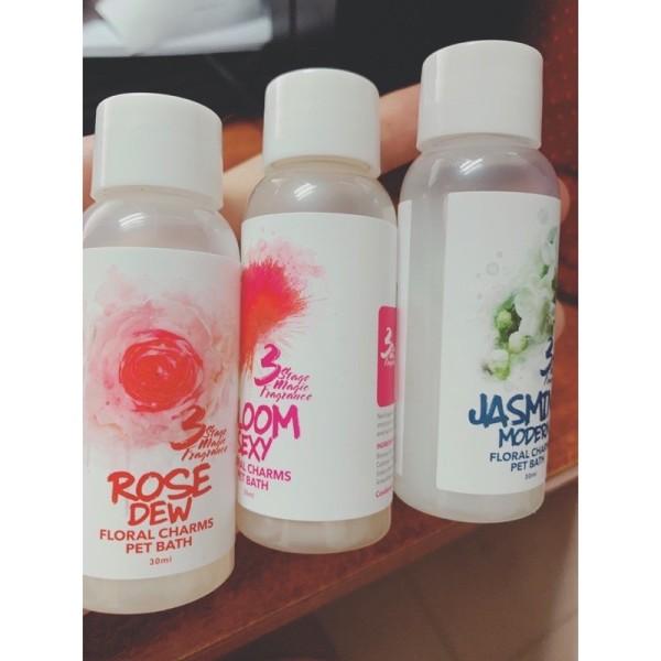 Combo 5 chai dùng thử các mùi ngẫu nhiên sữa tắm joyce&dolls bloom sexy jasmine modern rose dew violet tea-