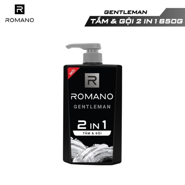 Tắm gội 2 trong 1 Romano Gentleman 650g giá rẻ