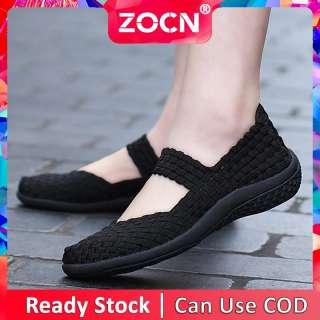 Giày Thường Ngày Cho Nữ ZOCN Giày Lười Nữ Giày Lười Đế Bằng Nữ Ngoại Cỡ 35-42