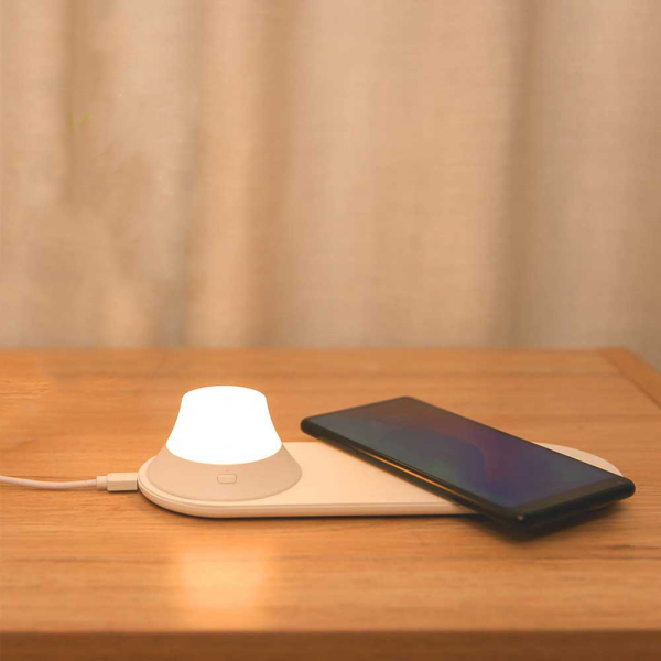 Đèn ngủ kiêm sạc không dây Xiaomi Yeelight Chính Hãng