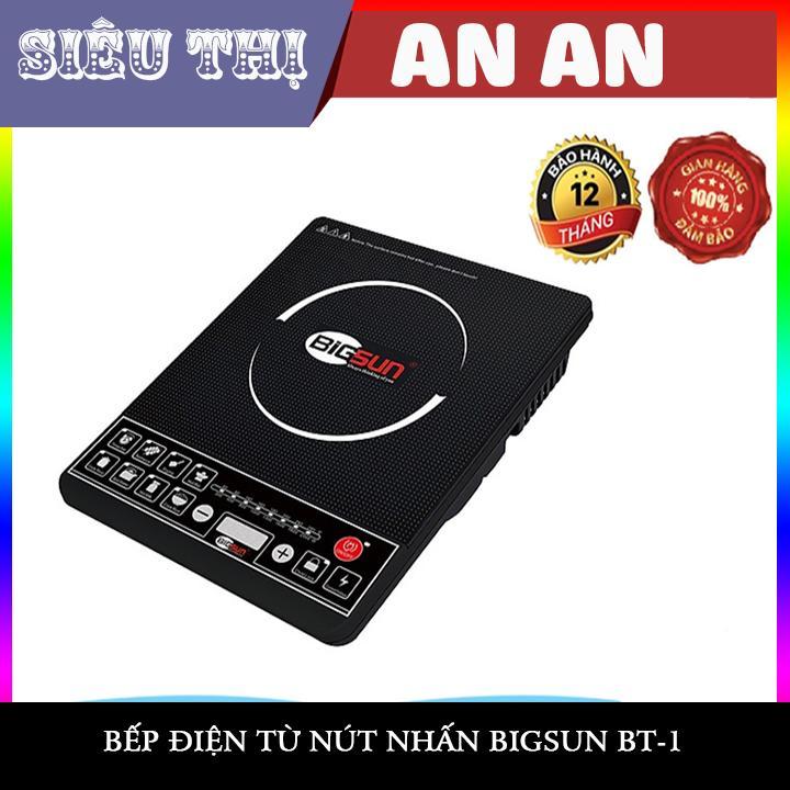 Bếp điện từ đơn đa năng Bigsun Tích hợp nhiều chế độ được lập trình sẵn nấu thông dụng Cực tiện lợi (Model BI-1)