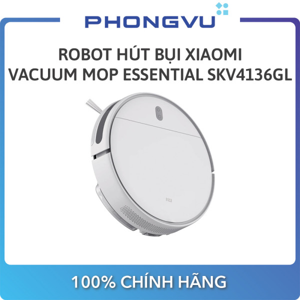 [Trả góp 0%]Robot hút bụi Xiaomi Vacuum Mop Essential SKV4136GL - Bảo hành 12 tháng