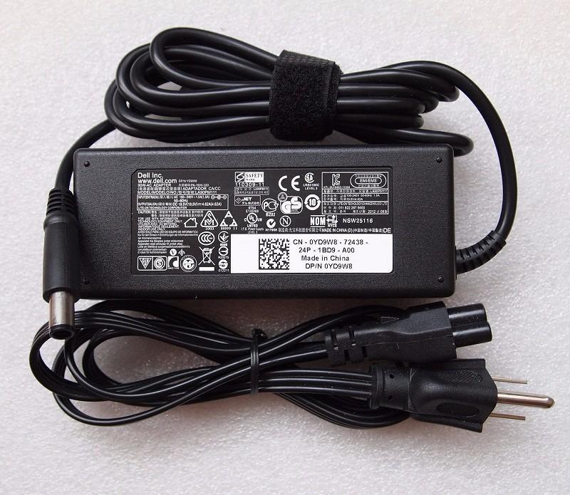 Giá Sạc Laptop Dell 19.5V 4.62A Chân Kim to E6420 E6520 3442 3443 3543 (Adapter Dell 19.5V - 4.62A 90w)