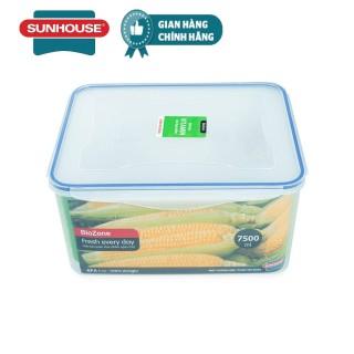 Hộp bảo quản thực phẩm ngăn mát BioZone 7500ml KB-CO7500P thumbnail
