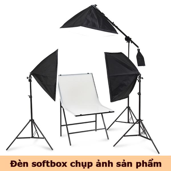 Bảng giá Đèn chụp ảnh sản phẩm đèn softbox bộ đèn studio quay phim livestream chuyên nghiệp