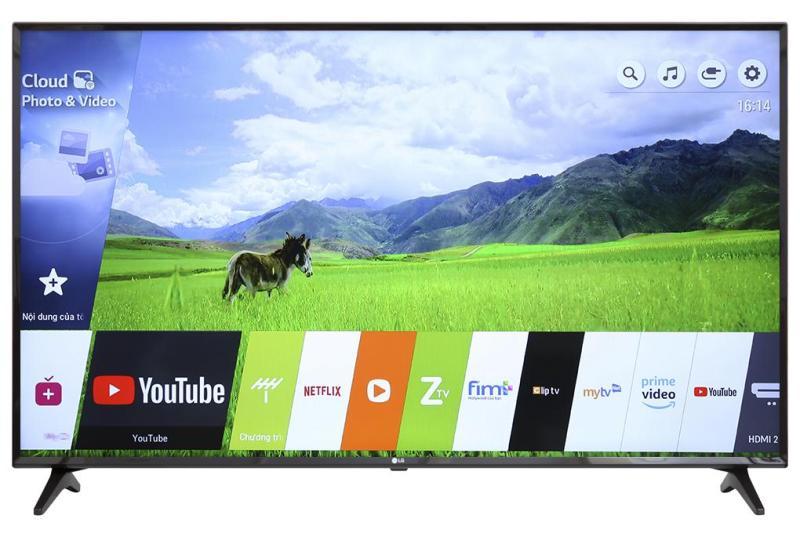 Bảng giá Smart TV LG 55inch 4K Ultra HD - Model 55UK6100PTA (Đen)