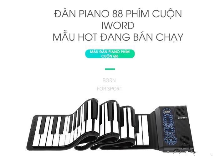 Smart1688 - Đàn Piano Phím Cuộn Cao Cấp